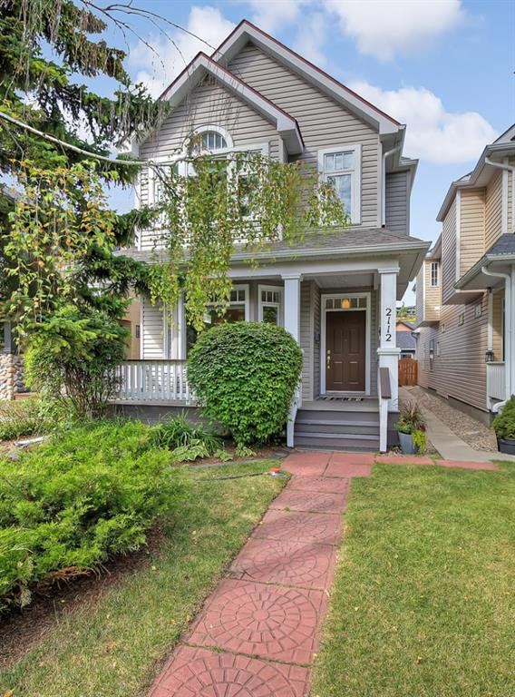 Main Photo: 2112 6 Avenue NW in Calgary: West Hillhurst Detached for sale : MLS®# A1031004