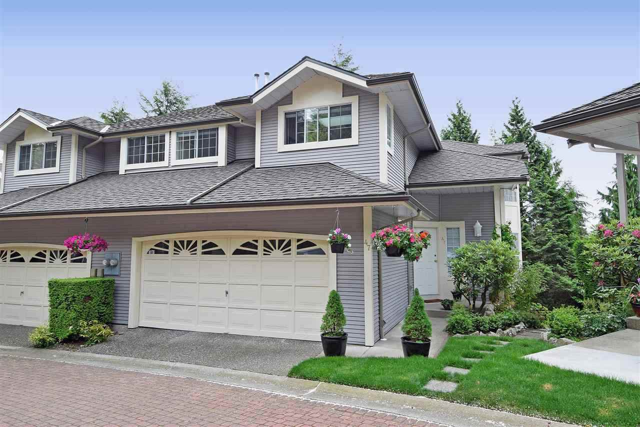 """Main Photo: 47 101 PARKSIDE Drive in Port Moody: Heritage Mountain Townhouse for sale in """"Treetops"""" : MLS®# R2507480"""