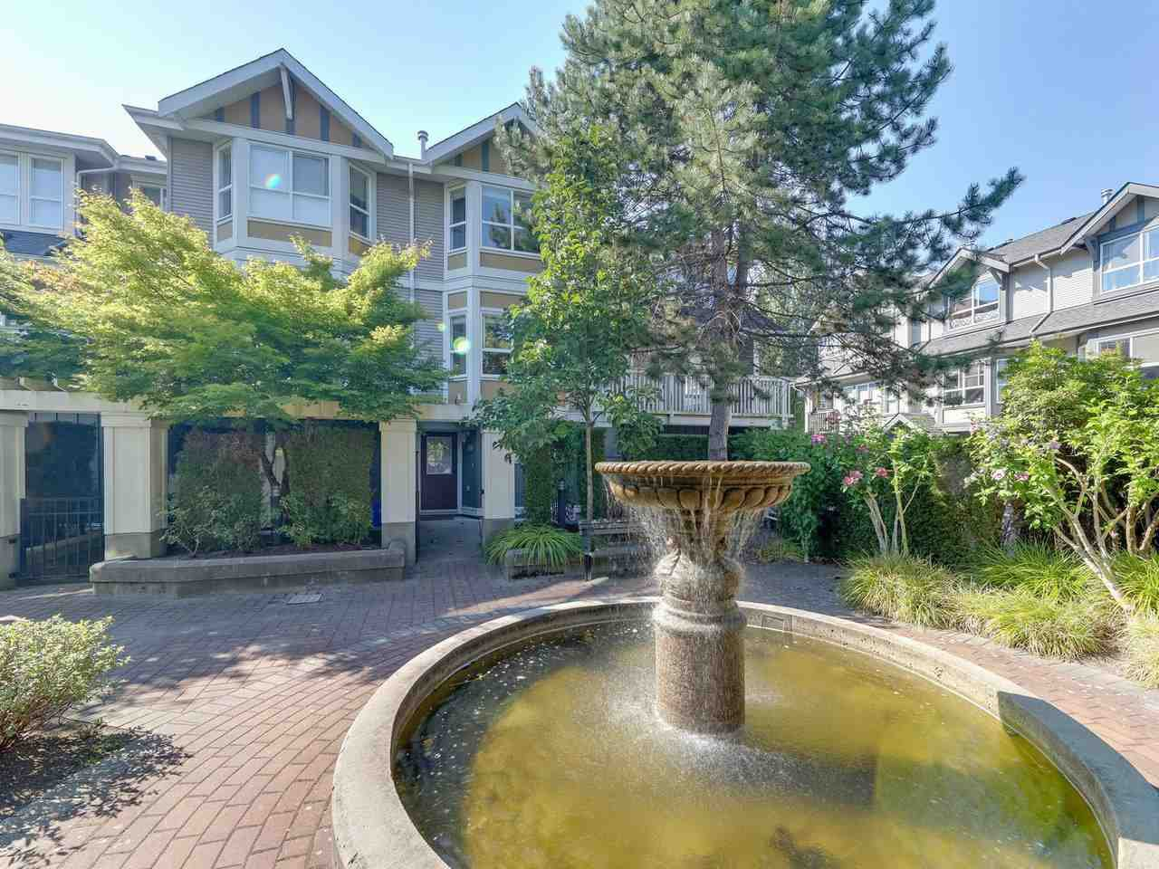 "Main Photo: 35 7833 HEATHER Street in Richmond: McLennan North Townhouse for sale in ""BELMONT GARDEN"" : MLS®# R2526014"