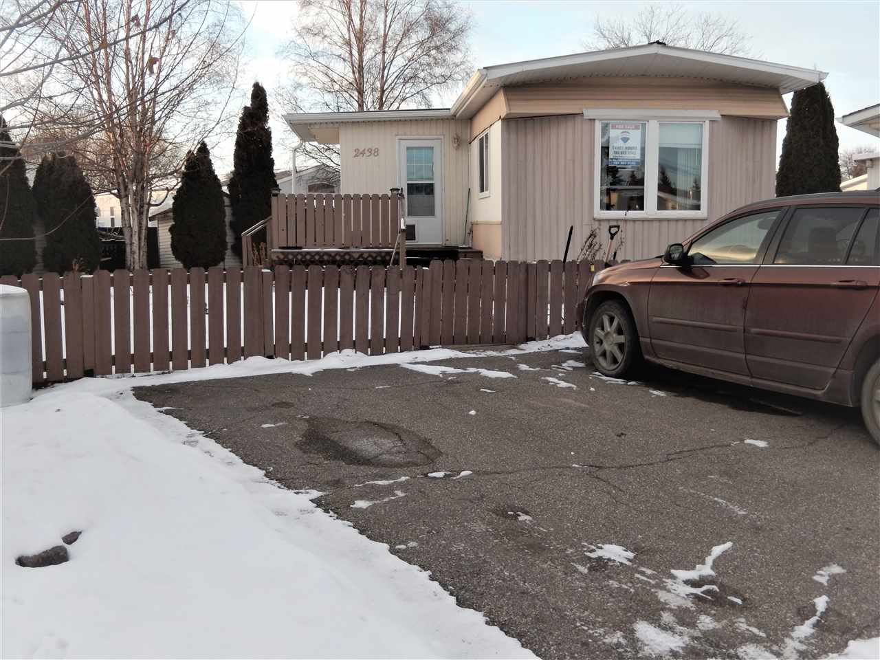 Main Photo: 2438 Lakeview Bay in Edmonton: Zone 59 Mobile for sale : MLS®# E4181185
