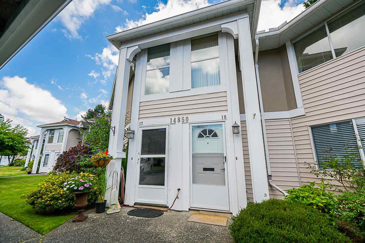 """Main Photo: 18 14850 100 Avenue in Surrey: Guildford Condo for sale in """"High Point Court"""" (North Surrey)  : MLS®# R2479528"""