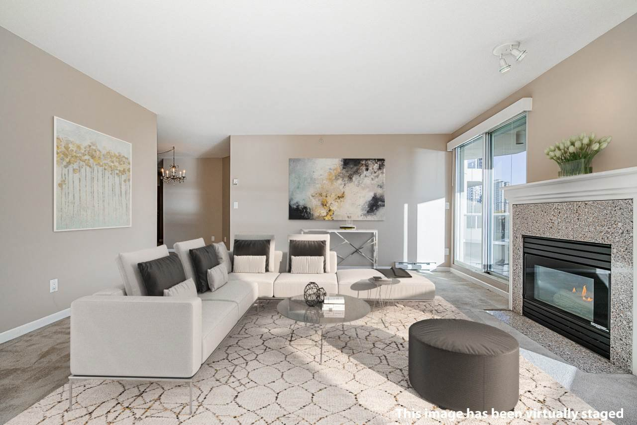 """Main Photo: 1207 1185 QUAYSIDE Drive in New Westminster: Quay Condo for sale in """"RIVIERA TOWERS"""" : MLS®# R2515860"""