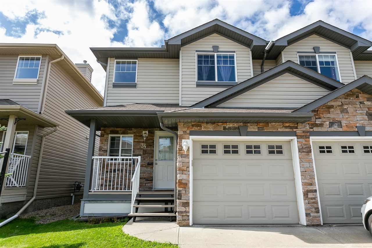 Main Photo: #34 12104 16 Avenue in Edmonton: Zone 55 House Half Duplex for sale : MLS®# E4170783