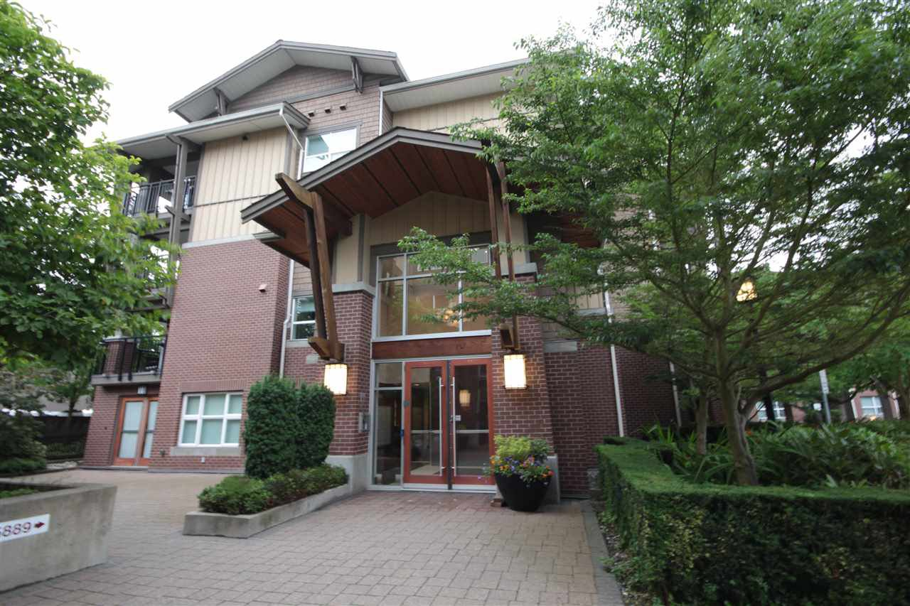 "Main Photo: 113 5889 IRMIN Street in Burnaby: Metrotown Condo for sale in ""MACPHERSON WALK"" (Burnaby South)  : MLS®# R2473579"
