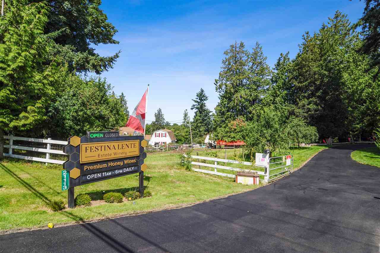 Main Photo: 21113 16 Avenue in Langley: Campbell Valley Agri-Business for sale : MLS®# C8033266