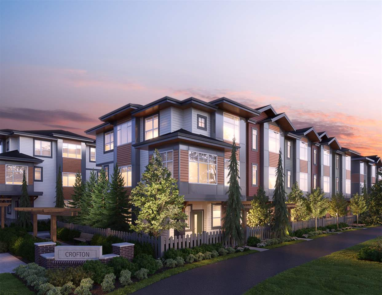 """Main Photo: 14 20763 76 AVENUE Avenue in Langley: Willoughby Heights Townhouse for sale in """"CROFTON"""" : MLS®# R2521213"""