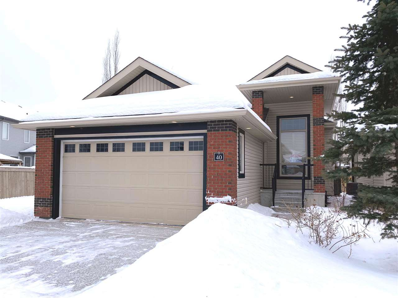 Main Photo: 40 841 156 Street in Edmonton: Zone 14 Condo for sale : MLS®# E4183499