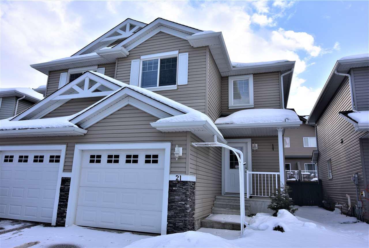 Main Photo: 21 5101 Soleil Blvd: Beaumont House Half Duplex for sale : MLS®# E4185986