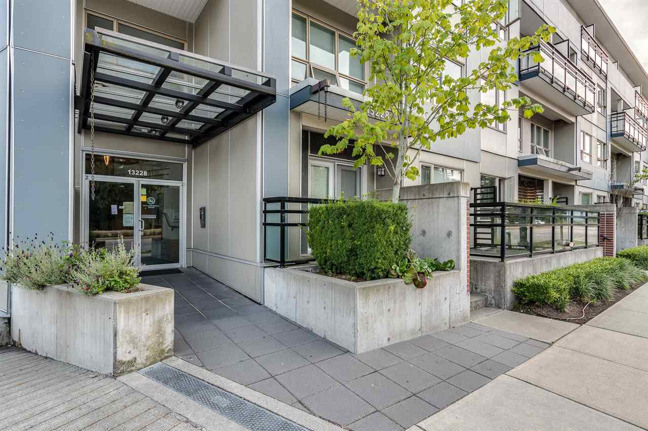 "Main Photo: 419 13228 OLD YALE Road in Surrey: Whalley Condo for sale in ""CONNECT"" (North Surrey)  : MLS®# R2482486"