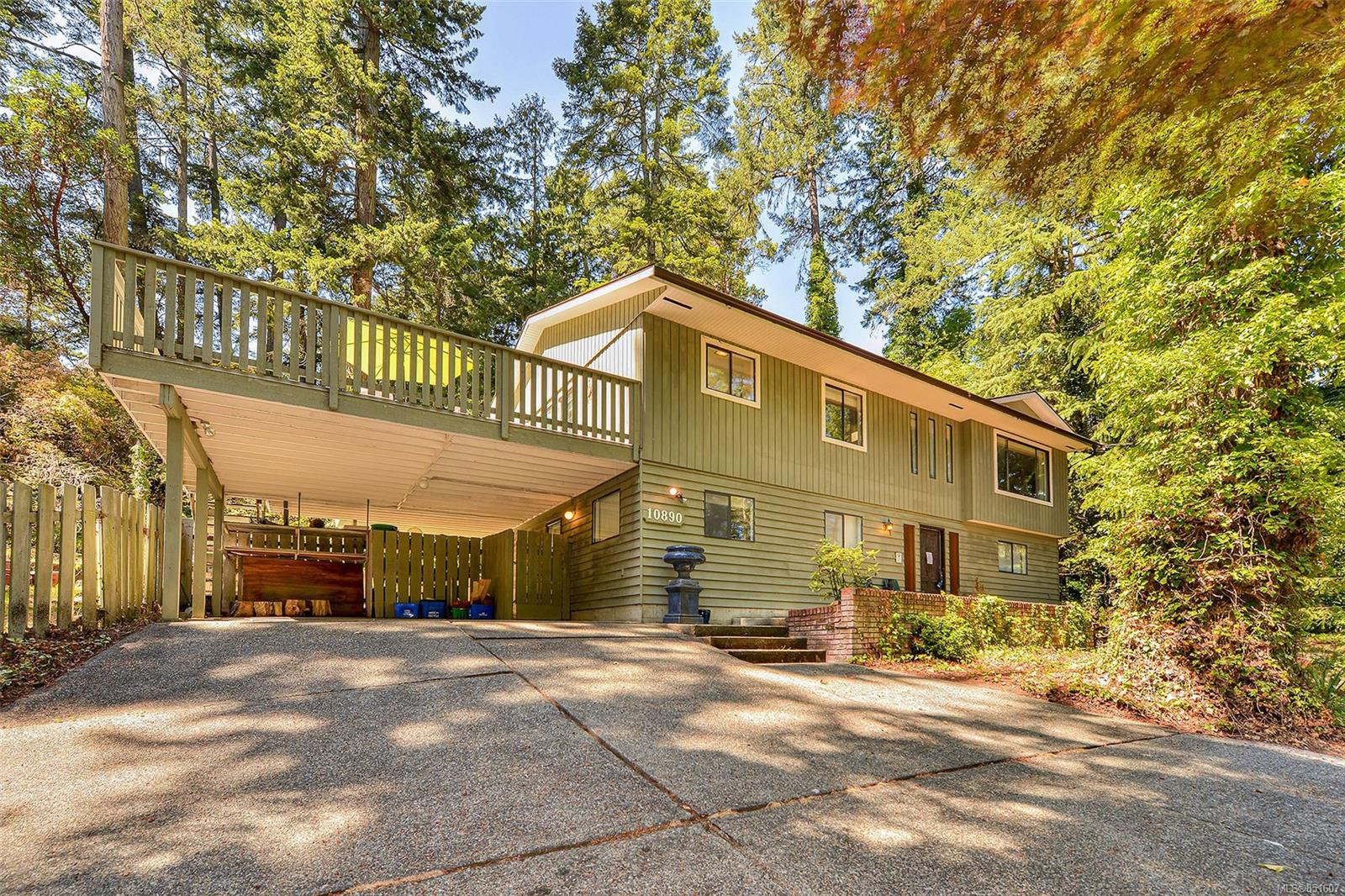 Main Photo: 10890 Fernie Wynd Rd in : NS Curteis Point House for sale (North Saanich)  : MLS®# 851607