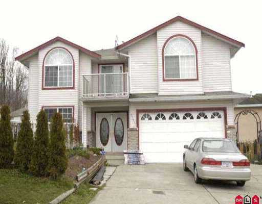 "Main Photo: 3324 SISKIN DR in Abbotsford: Abbotsford West House for sale in ""ABBOTSFORD WEST"" : MLS®# F2602630"