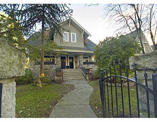 Main Photo: 2468 W 5TH Ave in Vancouver: Kitsilano 1/2 Duplex for sale (Vancouver West)  : MLS®# V624692
