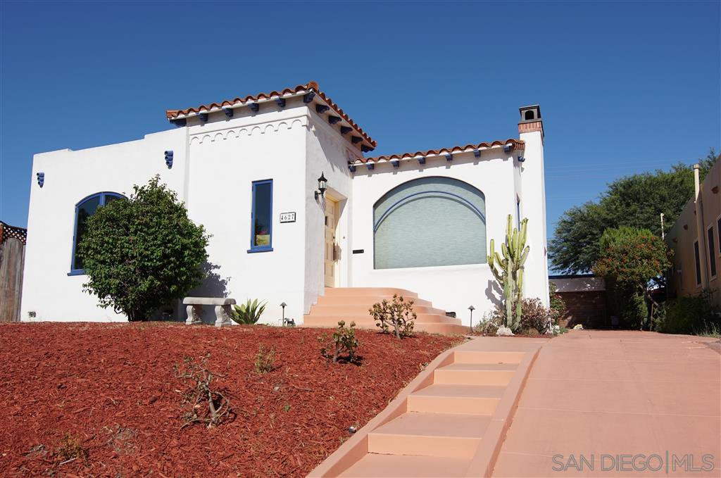 Main Photo: SAN DIEGO House for sale : 3 bedrooms : 4627 ALICE ST