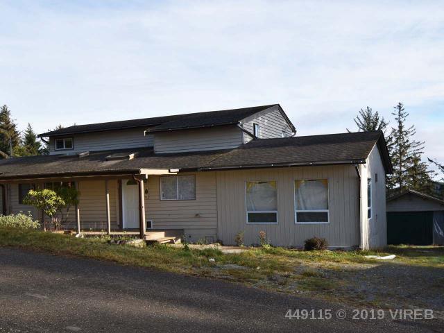 Main Photo: 60 COTTONWOOD ROAD in ALERT BAY: 10 Alert Bay (Zone 1) House for sale (Zone 10 - Islands)  : MLS®# 449115