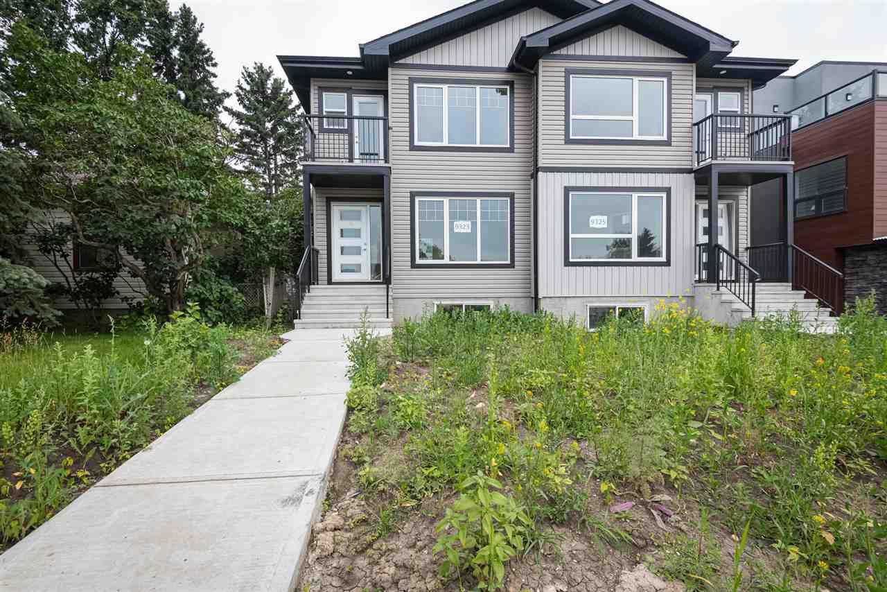 Main Photo: 9323 Connors Road in Edmonton: Zone 18 House Half Duplex for sale : MLS®# E4175705