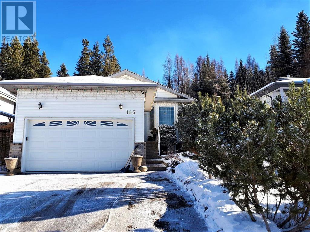 Winter time at 163 Sitar Crescent, Hinton, AB