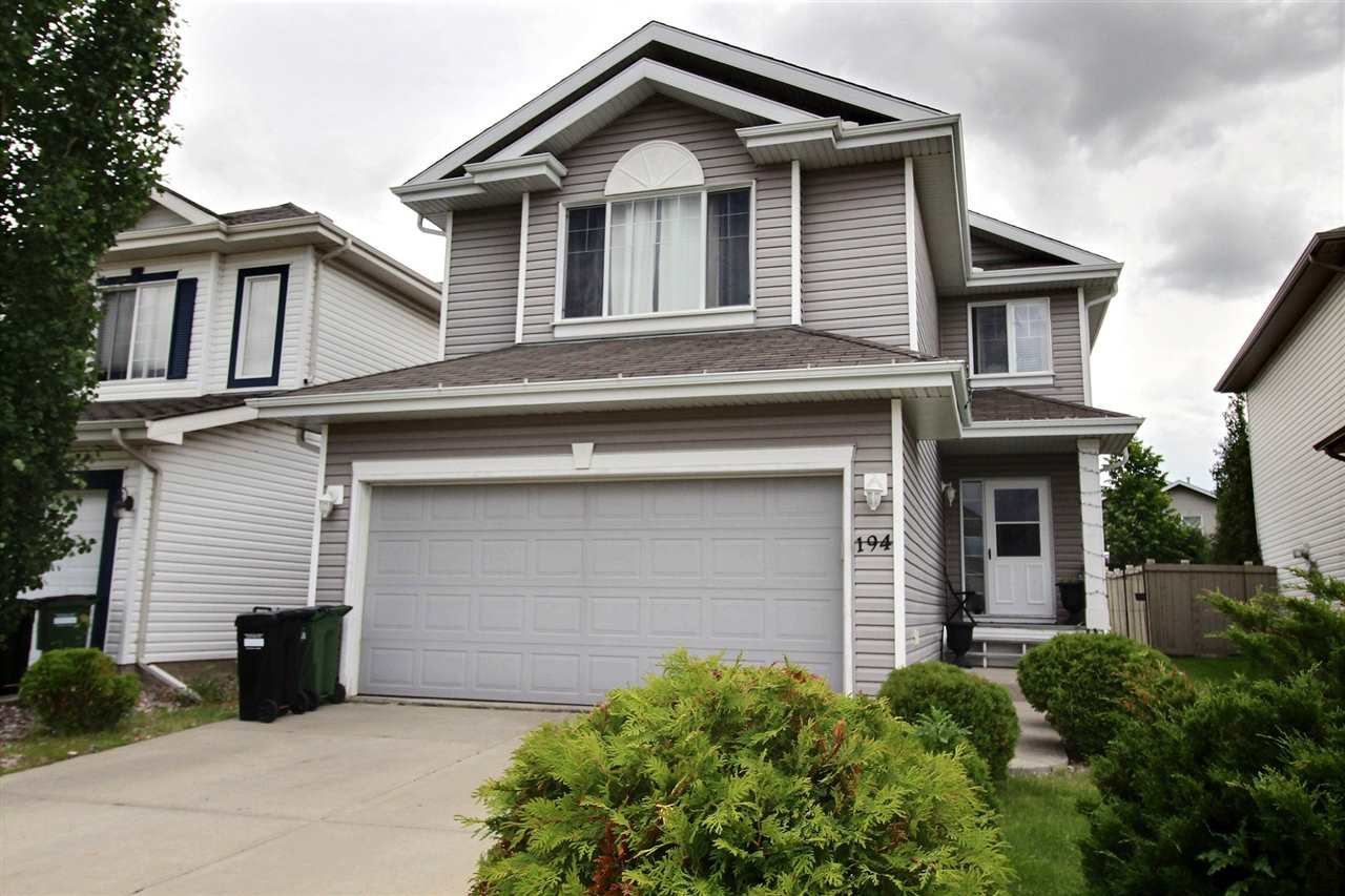 Main Photo: 194 EDWARDS Drive in Edmonton: Zone 53 House for sale : MLS®# E4176328