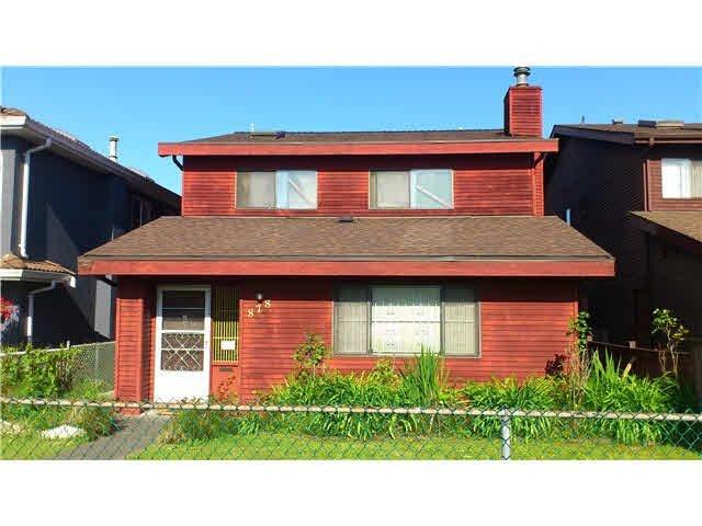 Main Photo: 878 NANAIMO STREET in : Renfrew VE House for sale : MLS®# V1068441