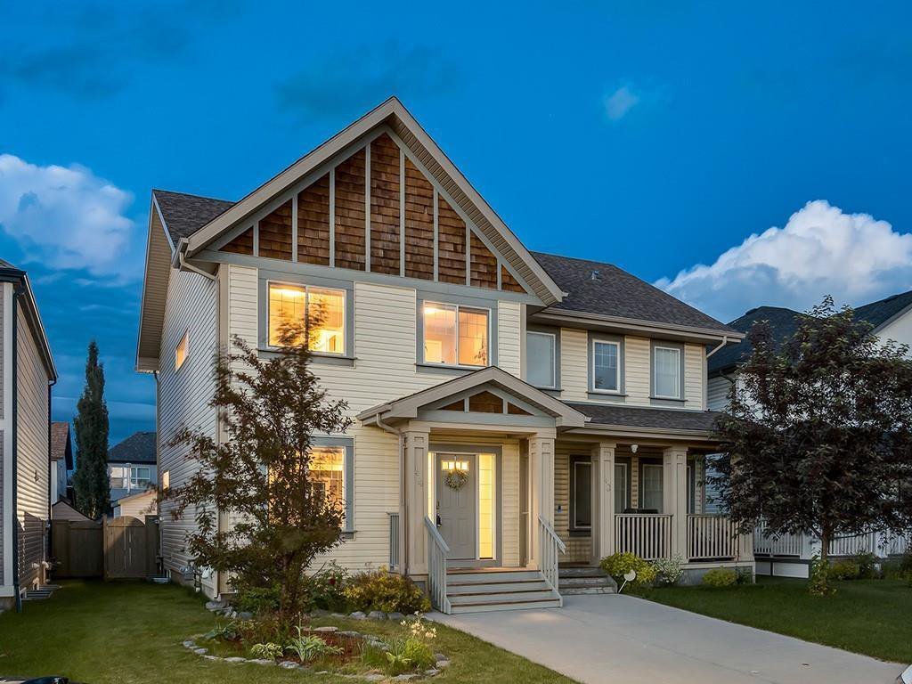 Main Photo: 44 COPPERPOND Road SE in Calgary: Copperfield Semi Detached for sale : MLS®# C4306470
