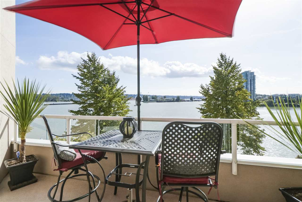 """Main Photo: 420 1150 QUAYSIDE Drive in New Westminster: Quay Condo for sale in """"WESTPORT"""" : MLS®# R2527891"""