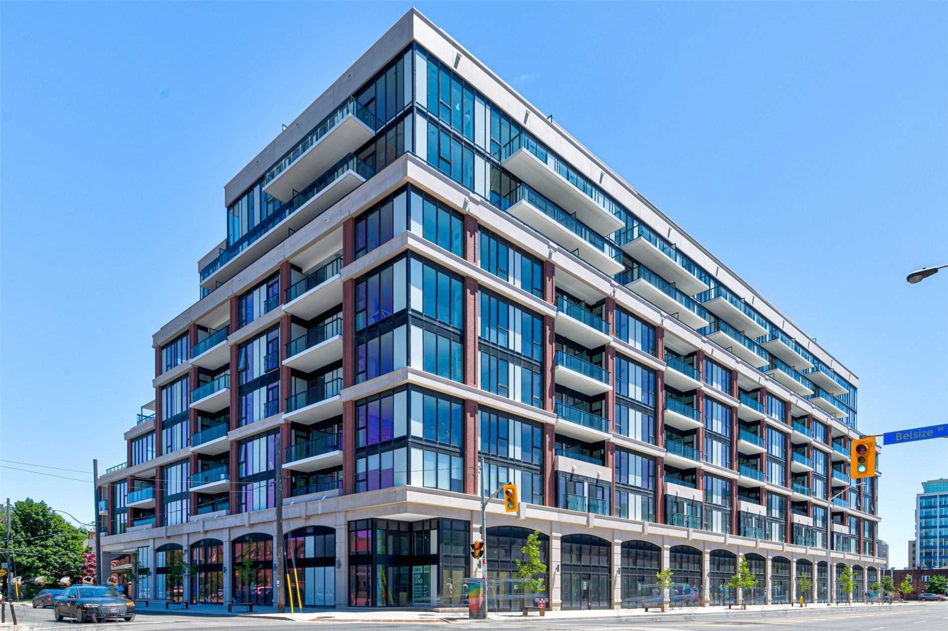 Main Photo: 214 1 Belsize Drive in Toronto: Mount Pleasant East Condo for lease (Toronto C10)  : MLS®# C4794855