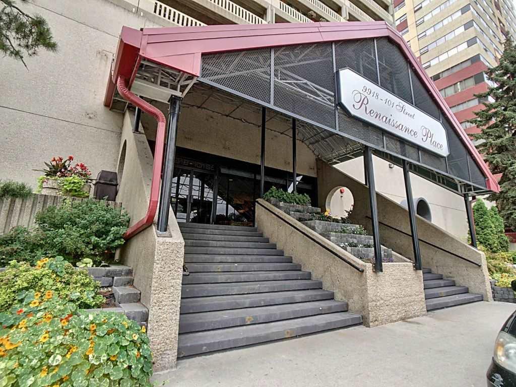 Main Photo: 1008 9918 101 Street in Edmonton: Zone 12 Condo for sale : MLS®# E4172988