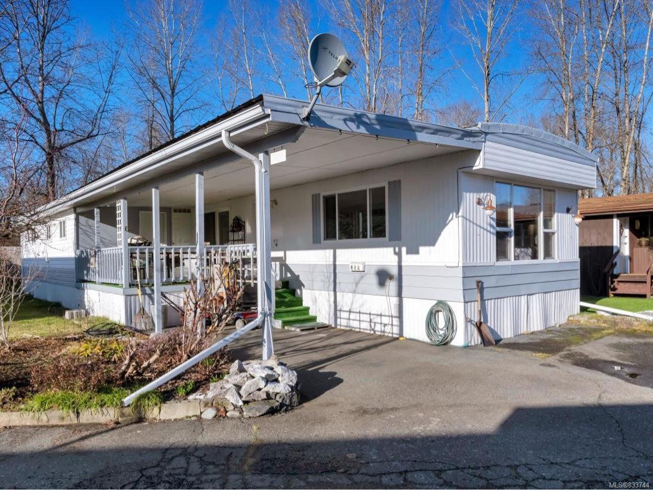 Main Photo: 822 2885 Boys Rd in DUNCAN: Du East Duncan Manufactured Home for sale (Duncan)  : MLS®# 833744