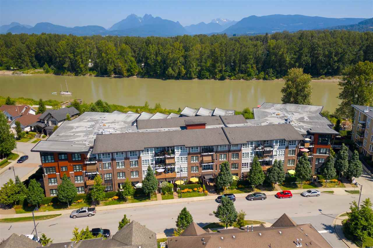 "Main Photo: 309 23215 BILLY BROWN Road in Langley: Fort Langley Condo for sale in ""WATERFRONT at Bedford Landing"" : MLS®# R2472976"