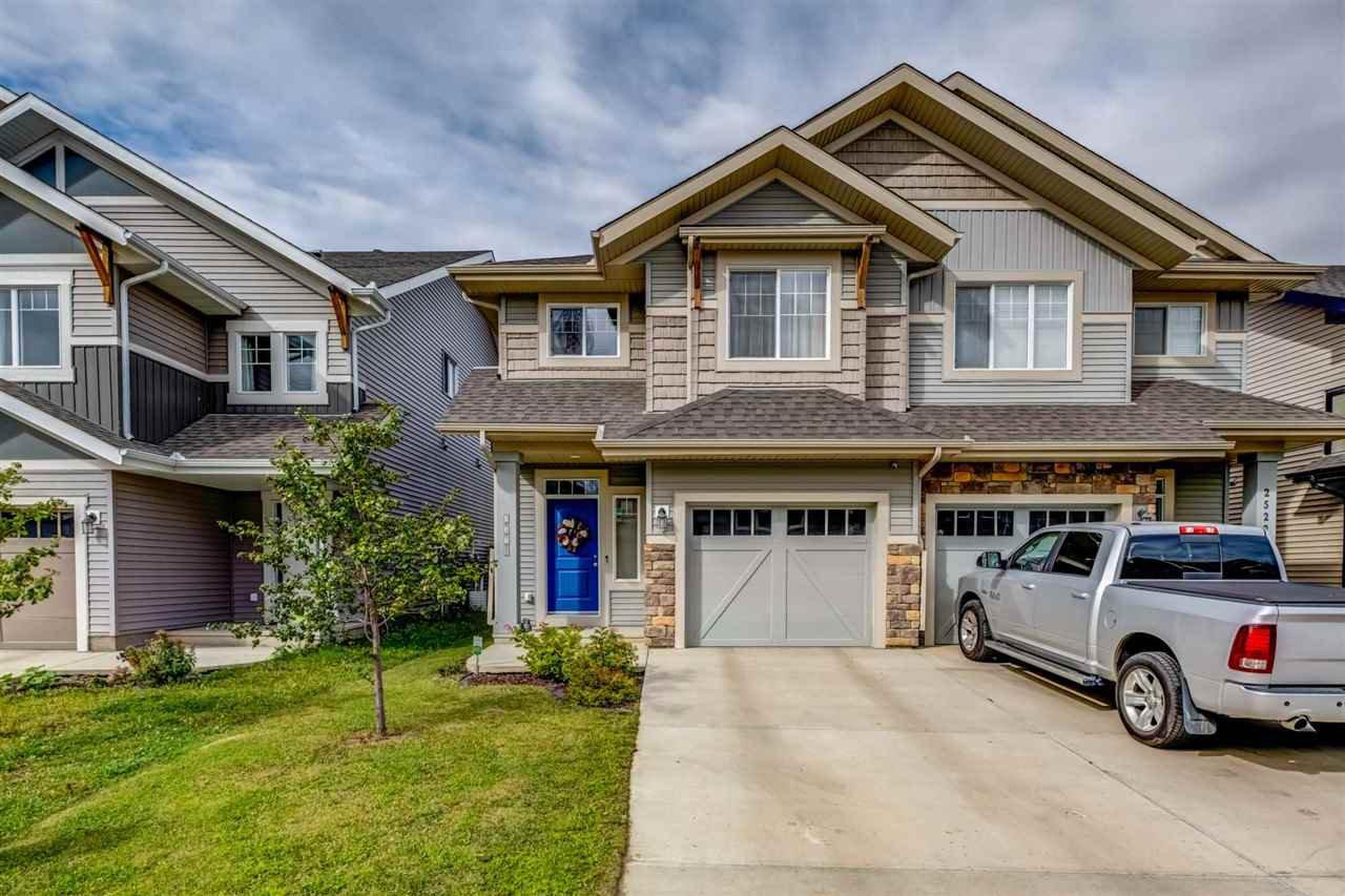 Main Photo: 2520 COUGHLAN Road in Edmonton: Zone 55 House Half Duplex for sale : MLS®# E4213529