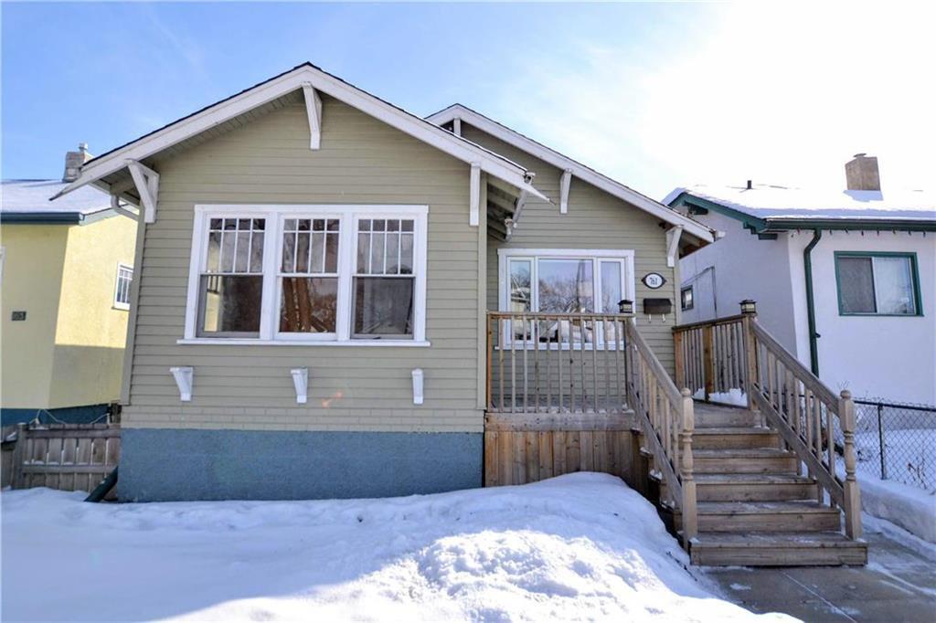 Main Photo: 761 Lipton Street in Winnipeg: West End Residential for sale (5C)  : MLS®# 202005814