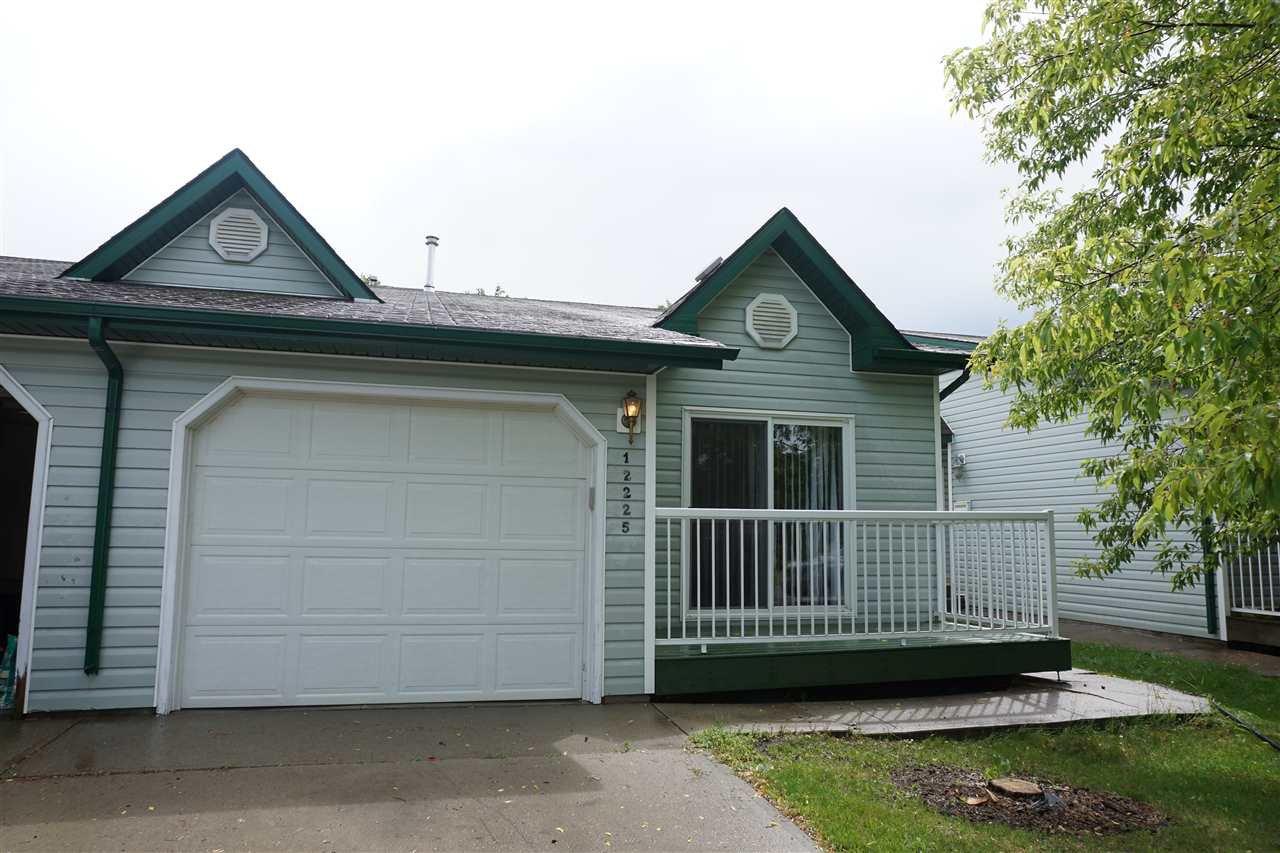Main Photo: 12225 140A Avenue in Edmonton: Zone 27 House Half Duplex for sale : MLS®# E4204027