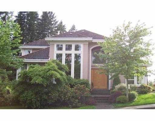 Main Photo: 1 WILKES CREEK DR in Port Moody: Heritage Mountain House for sale : MLS®# V539118