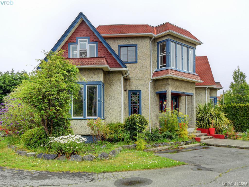 Main Photo: 2226 Shelbourne Street in VICTORIA: Vi Fernwood Single Family Detached for sale (Victoria)  : MLS®# 413556