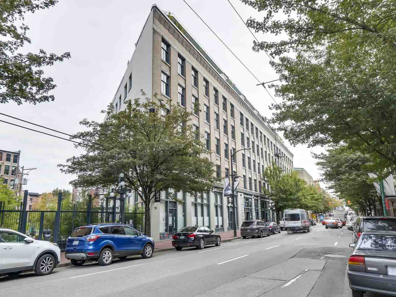 """Main Photo: 508 55 E CORDOVA Street in Vancouver: Downtown VE Condo for sale in """"KORET LOFTS"""" (Vancouver East)  : MLS®# R2404492"""