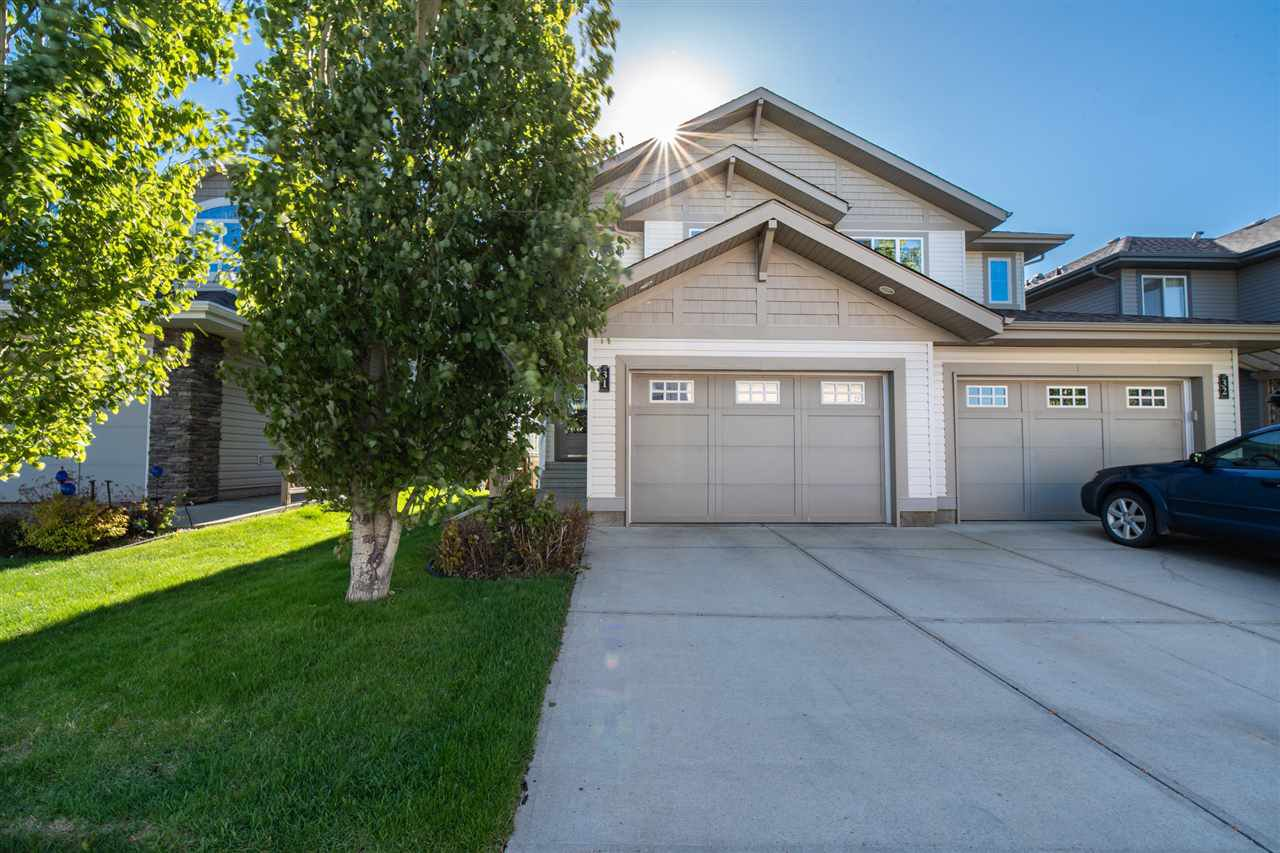 Main Photo: 31 1901 126 Street in Edmonton: Zone 55 House Half Duplex for sale : MLS®# E4200398
