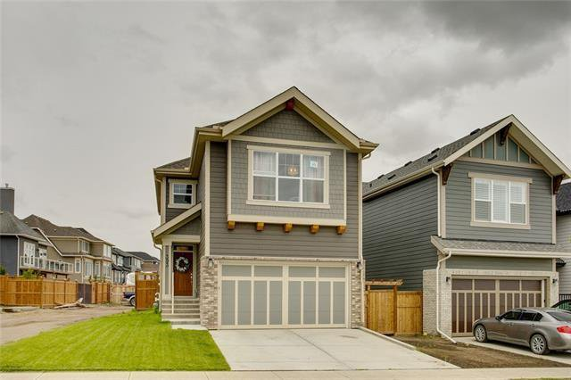 Main Photo: 393 MASTERS Avenue SE in Calgary: Mahogany Detached for sale : MLS®# C4302572