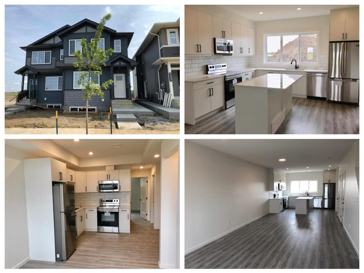 Main Photo: 307 Orchards Boulevard in Edmonton: Zone 53 House Half Duplex for sale : MLS®# E4170906