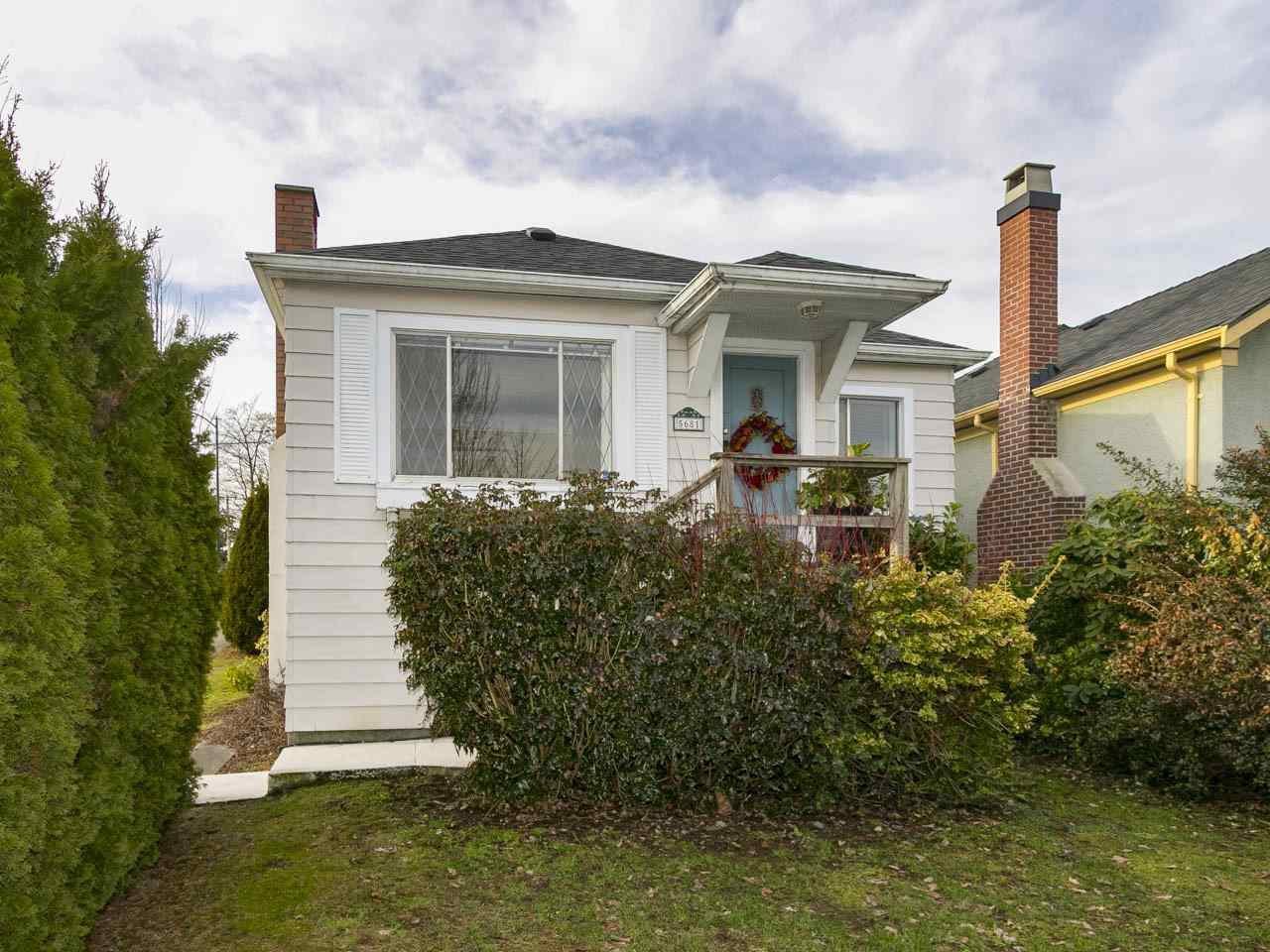 Main Photo: 5681 ONTARIO STREET in : Cambie House for sale : MLS®# R2135614