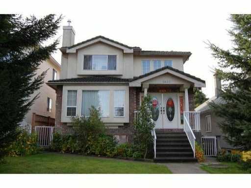 Main Photo: 2538 E 7TH AV in Vancouver: Renfrew VE House for sale (Vancouver East)  : MLS®# V915566