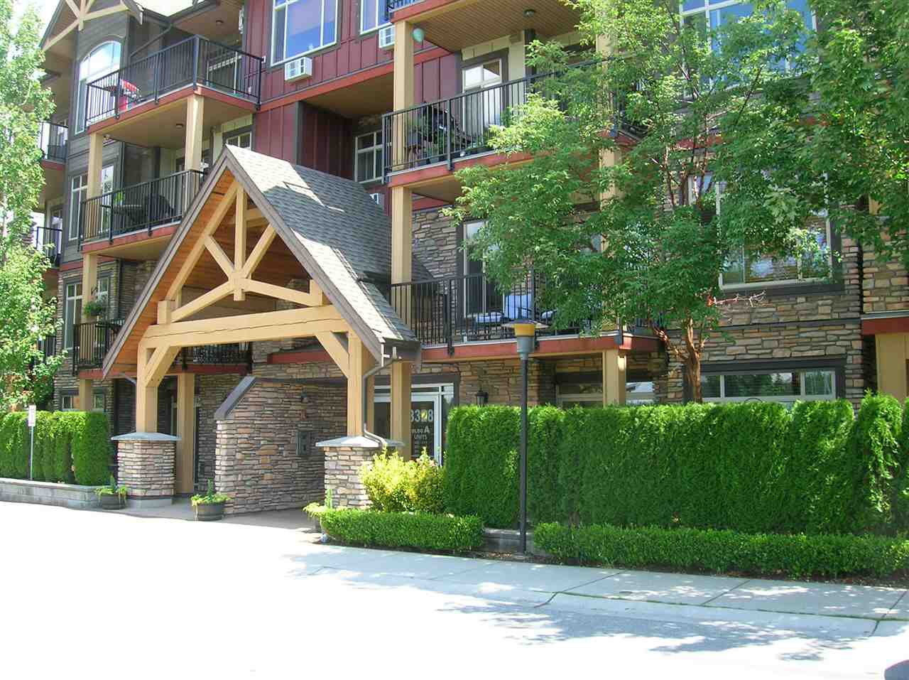 """Main Photo: 414 8328 207A Street in Langley: Willoughby Heights Condo for sale in """"Yorkson Creek"""" : MLS®# R2389473"""