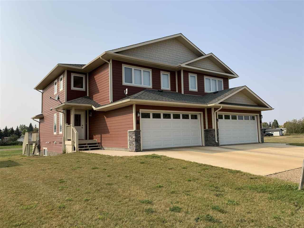 Main Photo: 4420A 51 Avenue: Hardisty House Duplex for sale : MLS®# E4213489