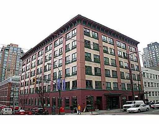 """Main Photo: 510 1216 HOMER Street in Vancouver: Downtown VW Condo for sale in """"MURCHIES BLDG"""" (Vancouver West)  : MLS®# V664037"""