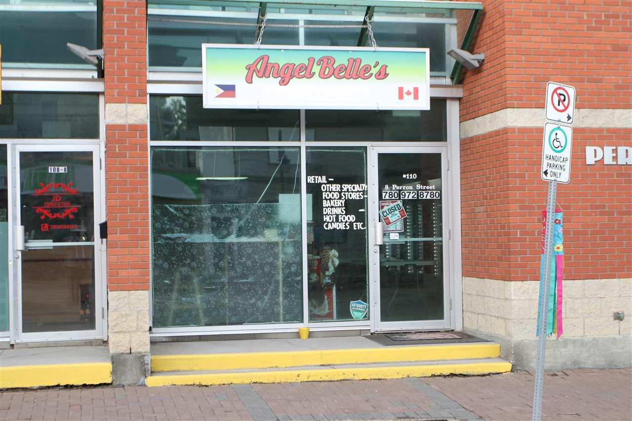 Main Photo: 110 8 PERRON Street: St. Albert Retail for lease : MLS®# E4173963