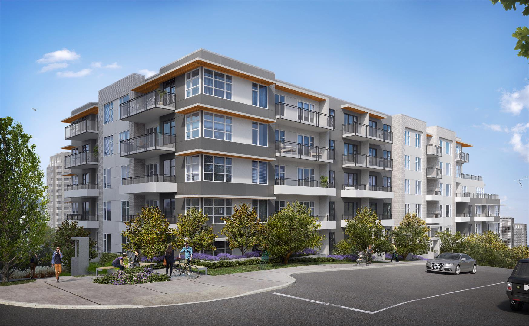 Main Photo: 413 1020 Auckland Street in New Westminster: Condo for sale