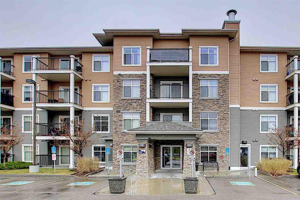 Main Photo: 312 6070 SCHONSEE Way in Edmonton: Zone 28 Condo for sale : MLS®# E4218748
