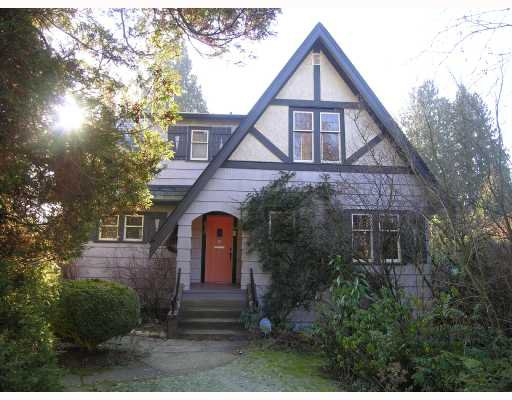 Main Photo: 2938 W 44TH Avenue in Vancouver: Kerrisdale House for sale (Vancouver West)  : MLS®# V685189