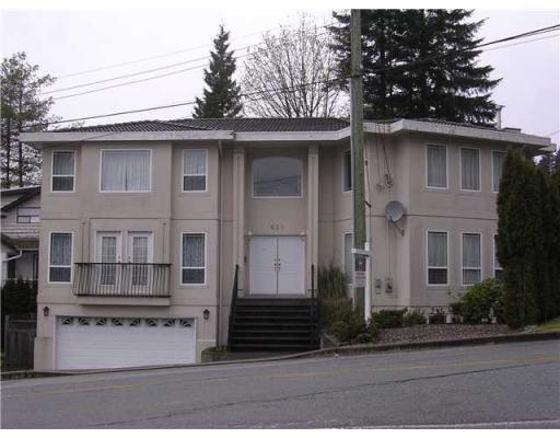 Main Photo: 631 ALDERSIDE RD in Port Moody: House for sale : MLS®# V852913