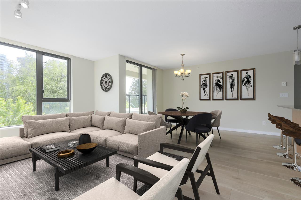 """Main Photo: 203 7063 HALL Avenue in Burnaby: Highgate Condo for sale in """"Emerson"""" (Burnaby South)  : MLS®# R2396931"""