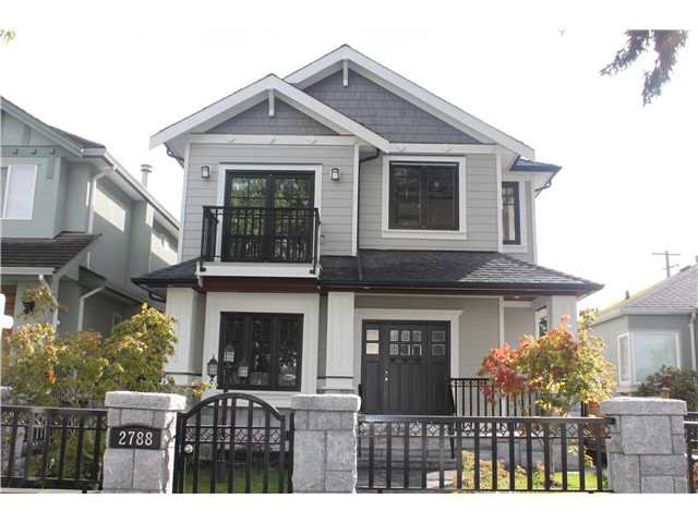 Main Photo: 2788 W 19TH AV in Vancouver: Arbutus House for sale (Vancouver West)  : MLS®# V915432