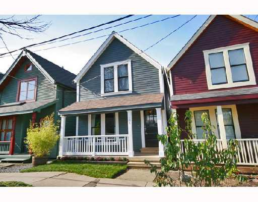 Main Photo: 431 HEATLEY Avenue in Vancouver: Mount Pleasant VE House for sale (Vancouver East)  : MLS®# V692445
